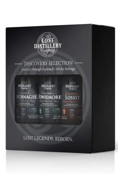 Discovery Classic Selection mini gift pack 3x5cl 43% lost distillery company