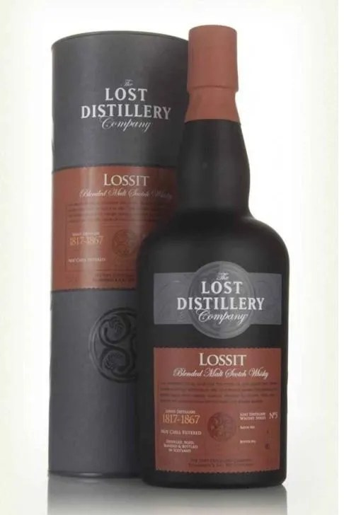 Lossit Archivist Selection Gift Tube 46% ABV 70cl. lost distillery company