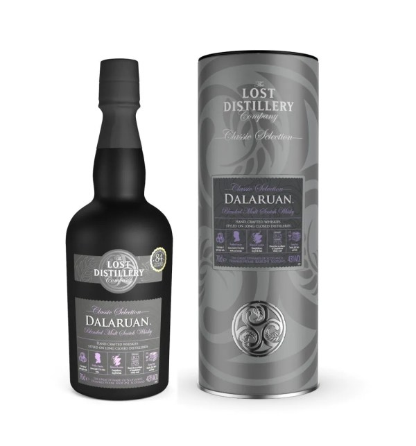 Dalaruan classic selection gift tin campbeltown whisky malt lost distillery