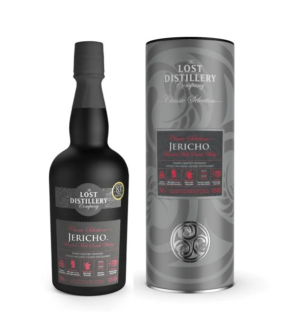 Jericho classic selection gift tin highland whisky malt lost distillery