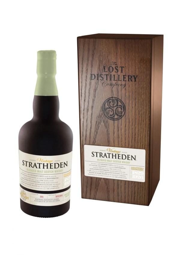 Stratheden vintage selection lowland whisky malt lost distillery