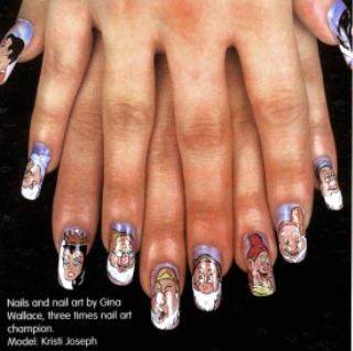 Party Nail Art Designs For Beginners