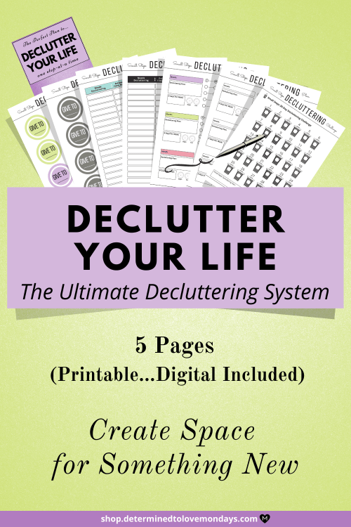 The Ultimate Decluttering System & Organization Planner