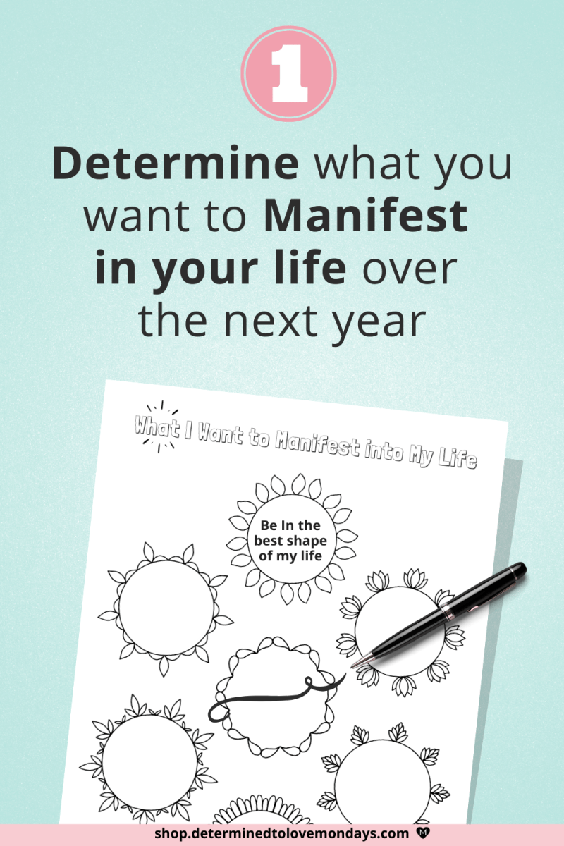 Manifestation and Law of Attraction Planner