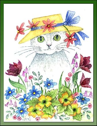Woodpoppy ,Tulips and Daisies embroidery panel, ready to embroider