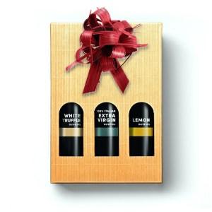 Premium Italian Olive Oils Trio
