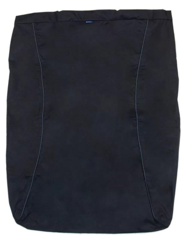 Black Seenin fleece wheelchair leg cover