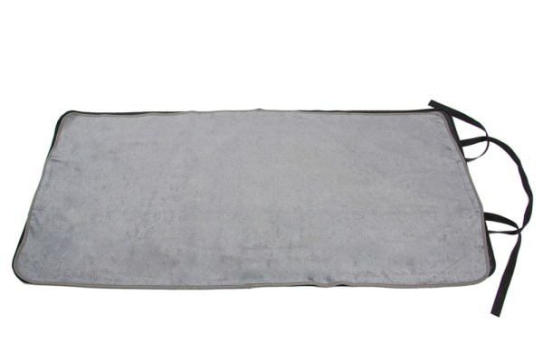 Grey Seenin roll-up portable changing mat for disabled adults and children