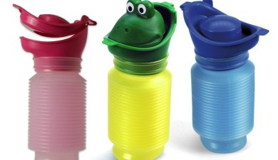 Photo of Uriwell Happy Family travel urinal set