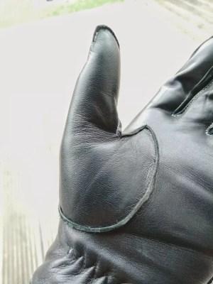Hands of Warriors wheelchair gloves reinforced thumb