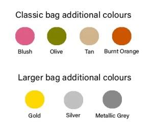 Samantha Renke new handbag colours