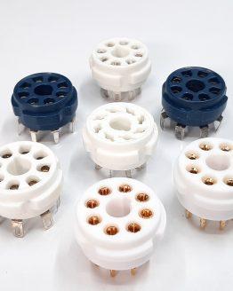 8-PIN Tube Sockets