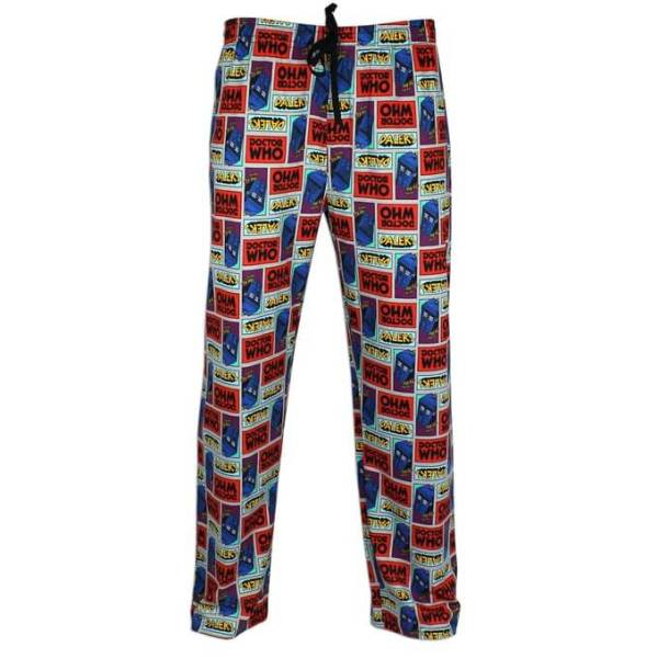 Doctor Who Pajama Lounge Pants for Men