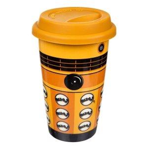 Official Doctor Who Ceramic DALEK Travel Mug!