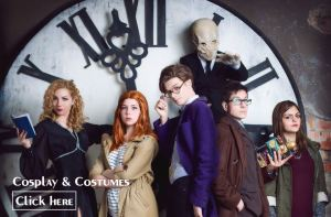 Doctor Who Cosplay & Costumes Slider