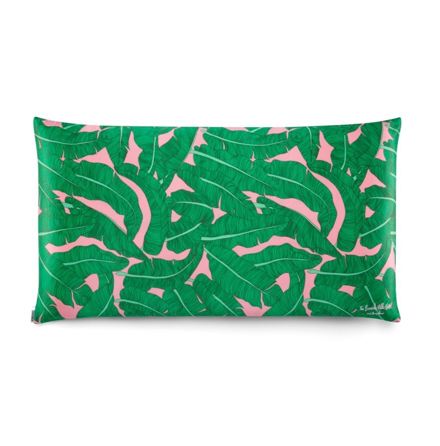 pink palace palm king pillowcase