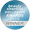Beauty Shortlist Wellbeing Awards 2019 Winner