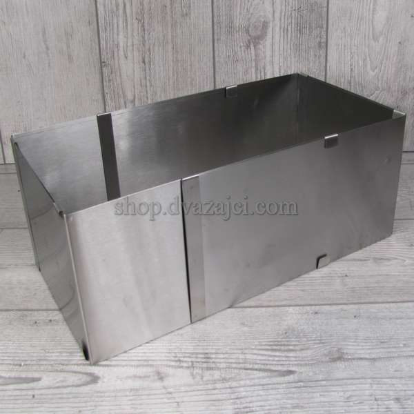 Раздвижная прямоугольная форма для выпечки