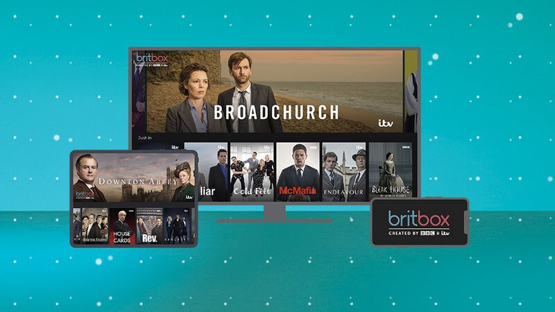 BritBox on different screens
