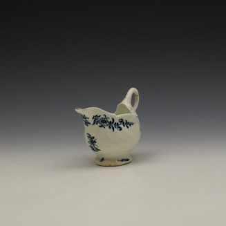 Lowestoft Daisy Pattern Dolphin Ewer c1770-75 (2)