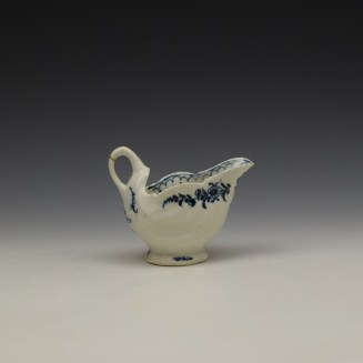Lowestoft Daisy Pattern Dolphin Ewer c1770-75 (5)