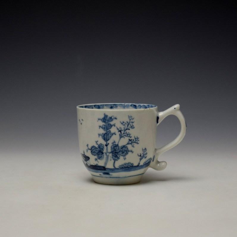 Lowestoft Elizabeth Johnson Pattern Coffee Cup c1765-68 (1)