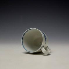 Lowestoft Elizabeth Johnson Pattern Coffee Cup c1765-68 (6)