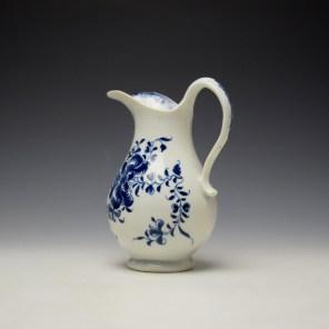 Lowestoft Mansifield Pattern Milk Jug c1770-80 (5)