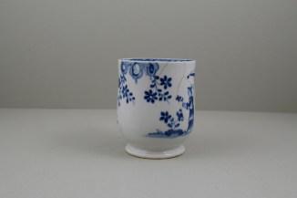 Lowestoft Porcelain Lady and Parasol Pattern Mug, C1762-65 (3)