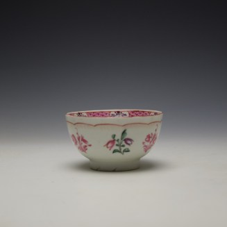 Baddeley-Littler Chinese Export Style Teabowl c1780-85 (2)