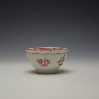 Baddeley-Littler Chinese Export Style Teabowl c1780-85 (3)