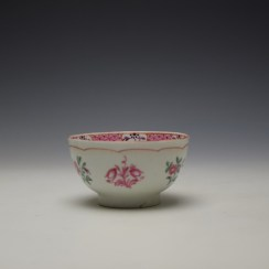 Baddeley-Littler Chinese Export Style Teabowl c1780-85 (5)