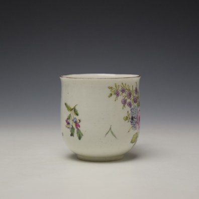 Chelsea Floral Pattern Coffee Cup c1755 (2)