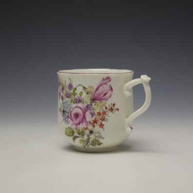 Chelsea Floral Pattern Coffee Cup c1755 (6)