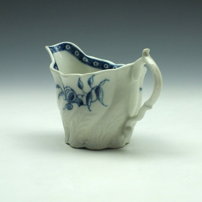 Caughley Convolvilus Pattern Low Chelsea Ewer (6)