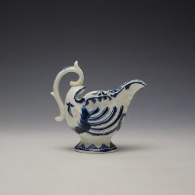 Derby Porcelain Moulded Dolphin Ewer c1770 (4)