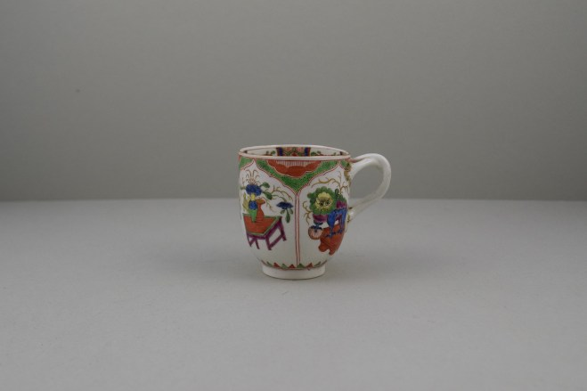 Worcester Porcelain Dragon Pattern Coffee Cup, C1775-85 (1)