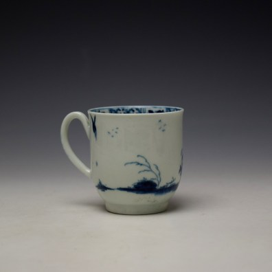Worcester The Walk in a Garden Pattern Coffee Cup c1755-60 (4)