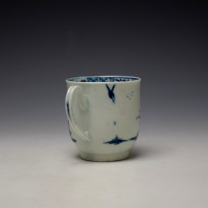 Worcester The Walk in a Garden Pattern Coffee Cup c1755-60 (5)