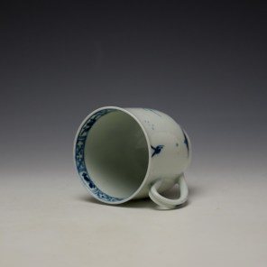 Worcester The Walk in a Garden Pattern Coffee Cup c1755-60 (7)