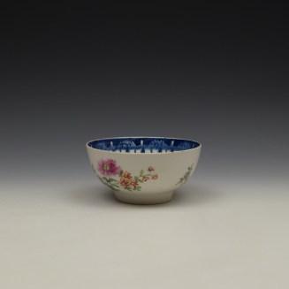 Worcester Floral Pattern Sugar Bowl c1770 (6)