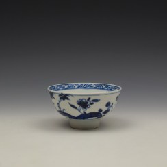 Bow Flowering Root Pattern Teabowl c1760 (5)