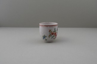 Bow Porcelain Flowers Pattern Coffee Cup, C1768-75. 2