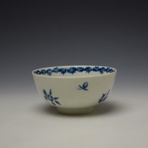 Worcester Fruit and Wreath Pattern Sugar Bowl c1775-80 (4)