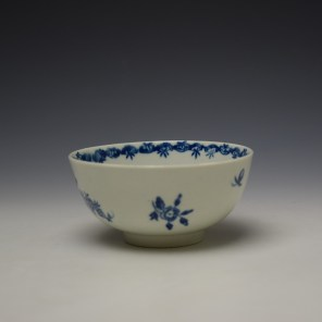 Worcester Fruit and Wreath Pattern Sugar Bowl c1775-80 (5)