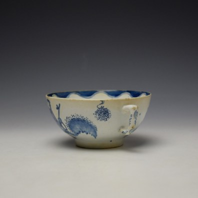 Bow Golfer and Caddy Pattern Breackfast Sized Teacup c1758-62 (6)