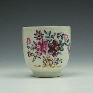 Worcester Polychrome coffee cup c1775 (2)
