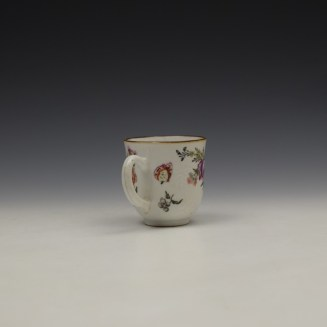 James Giles Decorated Floral Pattern Chinese Coffee Cup C1760 (5)