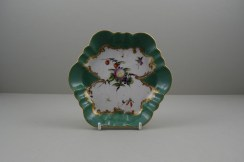 Worcester Porcelain James Giles Spotted Fruit Pattern Teapot, Cover and Stand, C1770 (12)