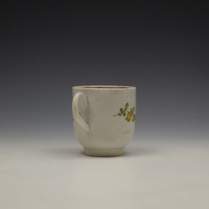 Liverpool John Pennington Floral Pattern Coffee Cup c1770 (4)